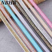 NBHB 5Yards 10mm Wide Lace Elastic Band Ribbon DIY Sewing Accessories Clothing w