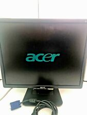 Acer LCD Monitor AL1906 with cables