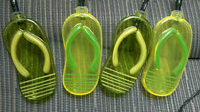 PARTY LIGHTS, THONGS, AUSSIE,GREEN & GOLD, OLYMPICS, AUSTRALIA DAY, FREE POSTAGE