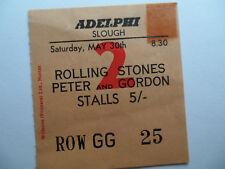 ROLLING STONES__1964__Original CONCERT TICKET STUB__Adelphi Theatre, London__EX-