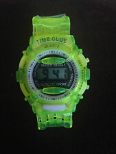 Kids Digital Quartz Wrist Watch Unisex Boys Girls Lovely Date & Time UK STCK CLR