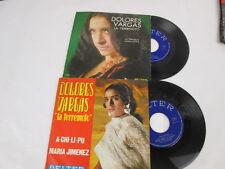 """Dolores Vargas """"la terremoto"""": La Piragua, A-Chi-Li-Pu. 2 Singles, Belter, 1970."""