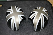 Side Wing Mirror Cover Caps For Bmw Mini Cooper Clubman F54 With Senor Hole F02