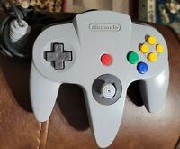 Official Nintendo 64 N64 gray Controller (NUS-005) OEM Authentic