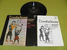 Troubadours Vol.1 / Rene Clemencic / Clemencic Consort Harmonia Mundi STEREO NM