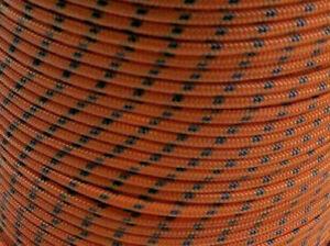 10m X 5mm ORANGE DOUBLE BRAID WITH DYNEEMA SPECTRA CORE MARINE BOAT ROPE 1350kg