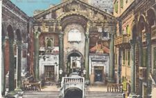 Carte Postale Yougoslavie Croatie Split Peristyl. 1913