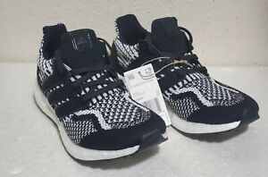 NWT $160 Adidas Ultraboost 5.0 DNA Black White Oreo Youth Sneakers Sz 6 G58431