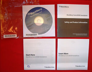 BlackBerry Curve 8520 - Smartphone user Guides/Manuals CD/Disc (no phone)