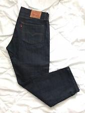 LEVI STRAUSS Men 502 Jeans Size 34(36)x29(28) Blue Taper Fit Cotton