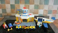 VINTAGE FISHER PRICE AIRPORT COMPLETE AND IN AMAZING COND.
