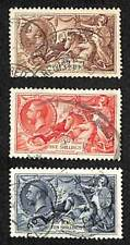 1934   HIGH   VALUE    Stamps  -  Set  Of  3  fine  used  CDS   (SG 450/451/452)