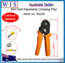 0.08-6mm² Hexagonal Crimper,Self-adjusting Crimping Tool forEnd-sleeves Ferrules