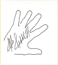 Jeff Jarrett Signed w Hand Sketch Shikishi Bas Beckett Coa Wwe Tna Aaa Autograph