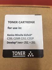 Konica Minolta C250 Toner Negro Sin Estreno