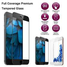 Premium 3D HD Screen Protector Full Cover Tempered Glass Film For iPhone 7