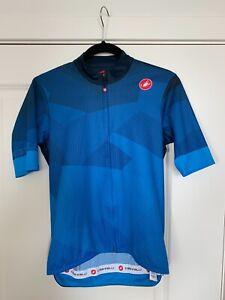 Castelli Climber Jersey Blue Mens Medium