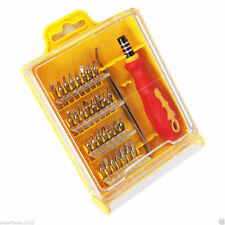 32 IN 1 Precision Magnetic Small Screwdriver Tool Kit Hex Torx Slotted Phillips