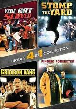 You Got Served/Stomp the Yard/Gridiron Gang/Finding Forrester (DVD, 2015) (4)