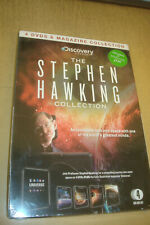 Stephen Hawking Collection 4 DVDS & Magazine Collection (Sealed)