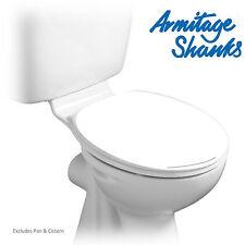 Armitage Shanks RICAMBIO S404501 ORION 3 NEW STYLE bianco SEDILE WC & Coperchio