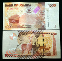Uganda 1000 Shillings Banknote World Paper Money UNC Currency Bill Note