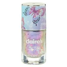 Nail Polish Claire's Butterfly Lilac Holo Glitter 10ml BN