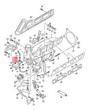 Genuine Solenoid Valve AUDI VW A1 A3 Cabriolet 06F906283F