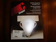 Cooper MCDCU Mens Athletic Supporter & Sport Cup Size: Small NIB
