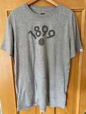 Nike Barcelona FC 1899 Vintage Football T Shirt Grey Slim Fit XL