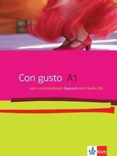 Con gusto A1 - Lehr- & Arbeitsbuch m. Audio-CDs (2009) von Rosa Ribas, Bibiana Wiener, Marianne Häuptle-Barceló, Eva María Lloret Ivorra und Margarita Görrissen (2009, Taschenbuch)
