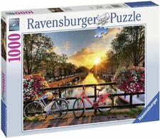 263426-1 Ravensburger Puzzle »Fahrräder in Amsterdam«, 1000 Puzzleteile NEU