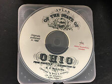 Atlas of the State of Ohio from 1868 on Cd