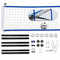 Training Equipment Complete Outdoor Volleyball Game Set Kit with Accessories