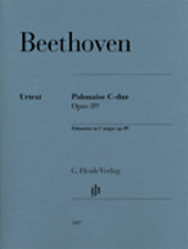 Henle Urtext Beethoven Polonaise in C Major, Op. 89 Piano Solo