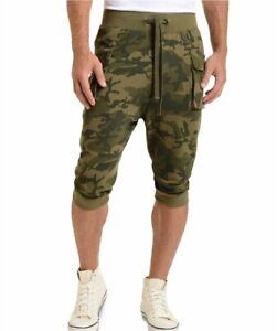 Men's 2(X)Ist Crop Cargo Pants, Size X-Large - Green $64