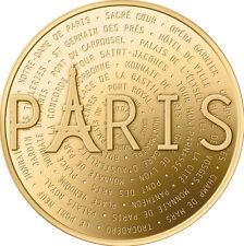 OFFICIEL DES MÉDAILLES SOUVENIR JETON MONNAIE DE PARIS COTATIONS 2016 MEDALS OMS