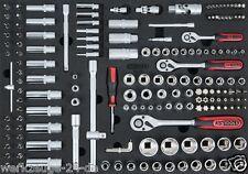 """KS tools 1/4""""-1/2"""" clés à douille-jeu, 171 pièces 815.1171 1/1 système de dépôt"""