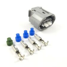 Lexus SC300 2JZ-GE 3-Pin Oval Alternator Connector Plug Clip Kit 2JZGE