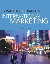 International Marketing by Czinkota and Ronkainen 10th Edition 978-1-133-62751-7