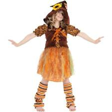 Scarecrow Fall Rag Doll Girls Toddler Costume, X Small 4, Serena - Adorable