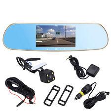 "5"" Android 4.0 Car Rear view Mirror Navi GPS 1080P DVR FM Wifi+la cámara trasera"