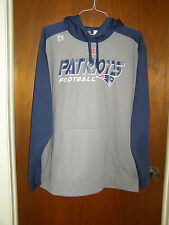 NFL New England Patriots NE Hoodie Hoody Jacket Football Fan Unisex Adult 2XL