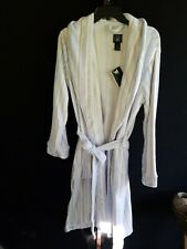 Laura Ashley Plush Bathrobe Periwinkle Robe Women's Size Medium NWT
