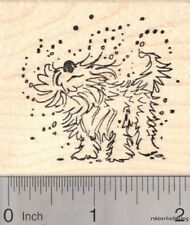 Wet Dog Rubber Stamp, Summer Fun at the Pool J18111 WM