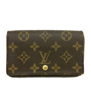 Louis Vuitton Monogram Porte Monnaie Billets Tresor Bifold Wallet /B1784