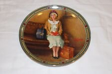 Knowles Normal Rocwell Collectible Plate A Young Girls Dream First Issue