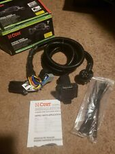 Curt Manufacturing 56070 trailer wiring harness with 7 way plug