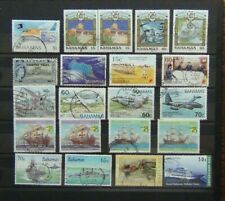 Bahamas 1962 2003 Used range of commemorative issues RAF Aircraft Ships etc