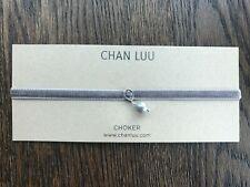 New Auth Chan Luu Grey Mix Pearl Choker